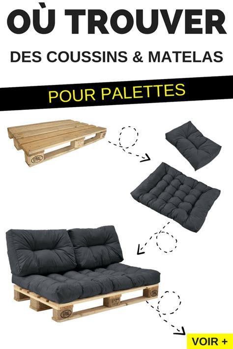 glucose cuisine ou en trouver où trouver des coussins et matelas pour fabriquer des meubles en palettes palette