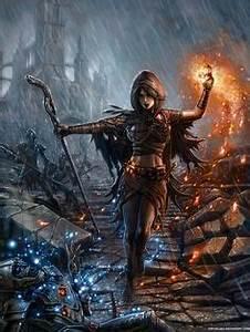 Astrid Bard Age : kingdom age elf picture 2d fantasy girl woman mage ~ Melissatoandfro.com Idées de Décoration