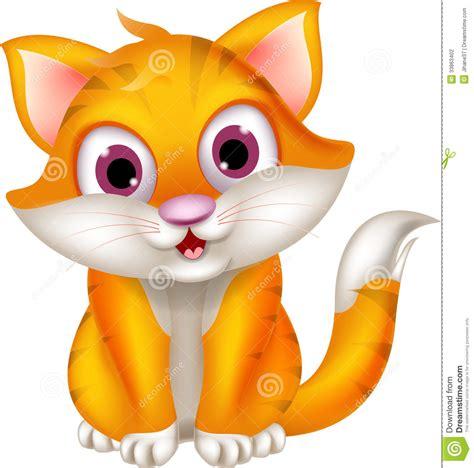 Cute Cartoon Cat Wallpaper Wallpapersafari