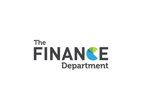 bureau of finance the finance department logo design by italic