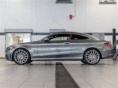 Driver seat, door mirrors, steering wheel and head restraints. New 2020 Mercedes-Benz C300 4MATIC® Coupe All Wheel Drive 4MATIC 2-Door Coupe