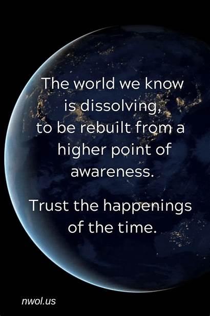 Spiritual Meditation Quotes Waves Awareness Newwavesoflight Point