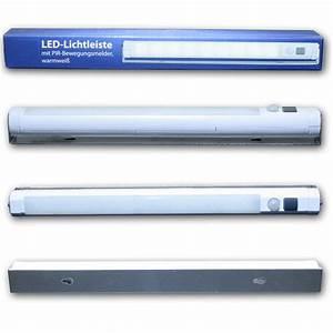 Led Lichtleiste Kabellos : led lichtleiste mit pir bewegungsmelder warmwei ~ Orissabook.com Haus und Dekorationen