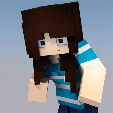 Girl Slamacow (Slamagirl) Minecraft Skin