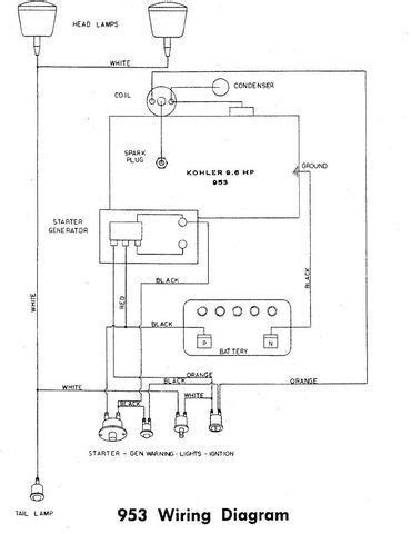 Wheel Wiring Diagram by Wiring Diagram For 953 Wheel Electrical