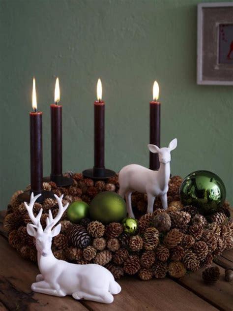 35 Creative Christmas Decoration – DIY Advent Wreath Ideas