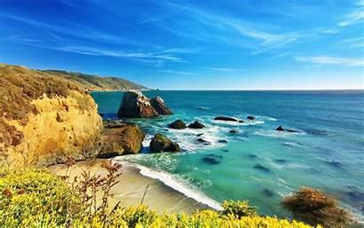 Sur California Wallpapers Landscape Wallpapersafari Mac Code