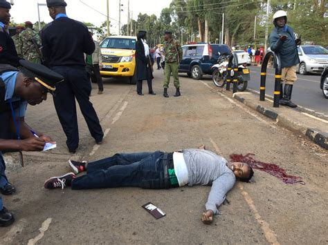 Suspected Member Of Al Shabaab Killed In Front Of Us