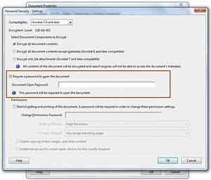 how to password protect pdf documents 3 methods With pdf document lock