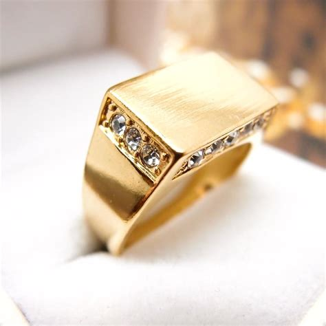 Gold: Mens Gold Jewellery Rings