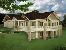 Bungalow Contemporary Craftsman Traditional House Plan