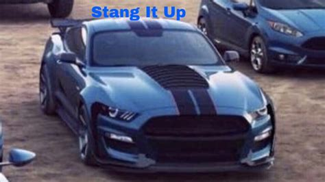 ford mustang shelby gtr top