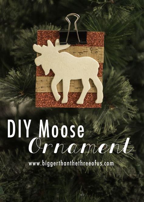 diy moose ornament diy christmas ornaments popsicle