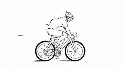 Bike Road Giphy Biking Link Tweet
