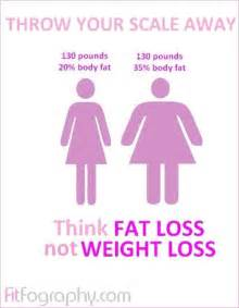 Fat Loss vs Weight Loss - SkinnyTwinkie Weight Loss and Dieting