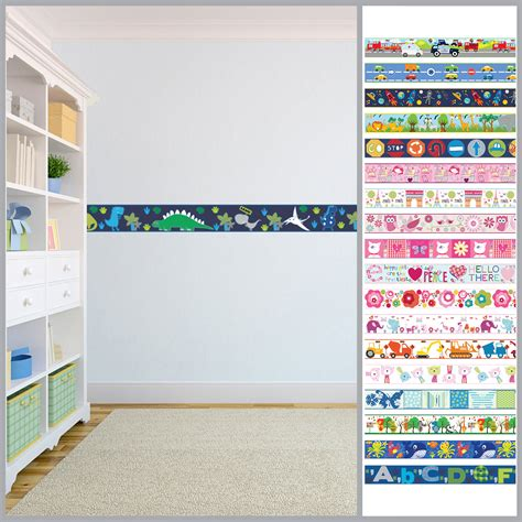 Wallpaper Borders Childrens Kids Nursery Boys Girls