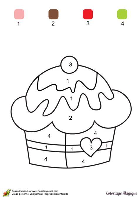 jeux de cuisine de gateaux d anniversaire coloriage magique niveau cp un gâteau