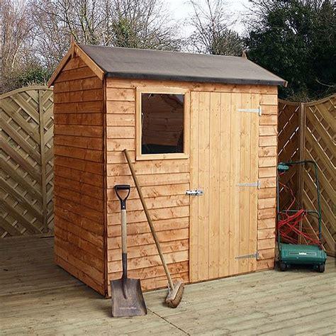waltons reverse overlap apex wooden shed waltons