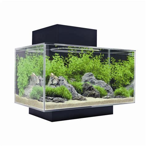 aquarium 20 litres pas cher aquarium edge glossy 233 quip 233 noir de 23l fluval animalerie truffaut