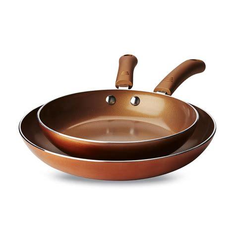 bella    ceramic  stick aluminum frying pans home kitchen cookware fry pans