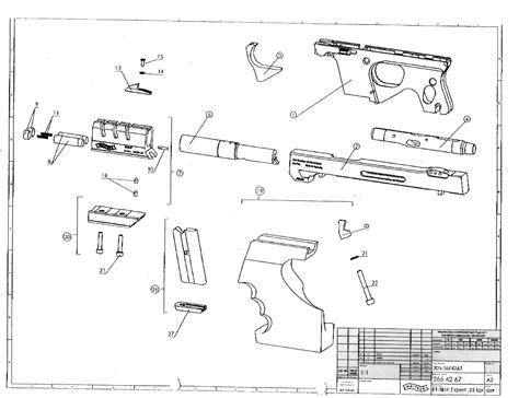 Ppk Exploded Diagram Exploded View Drawing Wire Diagrams