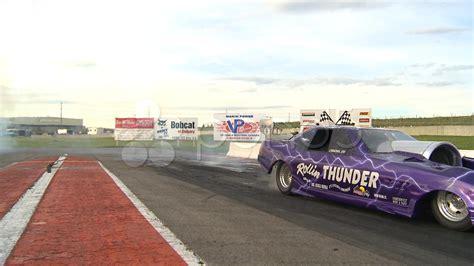 Motorsports, Drag Racing Jet Car Show, Danger Close Stock