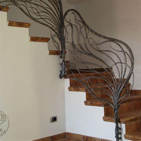 ringhiera in ferro battuto per interno balaustre interne in ferro scale in ferro battuto