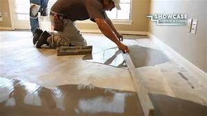 smoothing the subfloor youtube With how to level an uneven floor