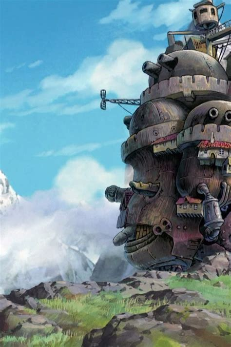 Howls Moving Castle Mobile Phone Wallpaper Pack