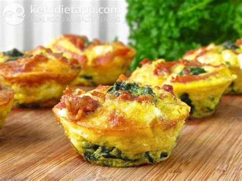 keto meal egg muffins  goat cheese ketodiet