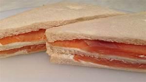 Smoked Salmon And Cream Cheese Sandwich - طريقة تحضير ...