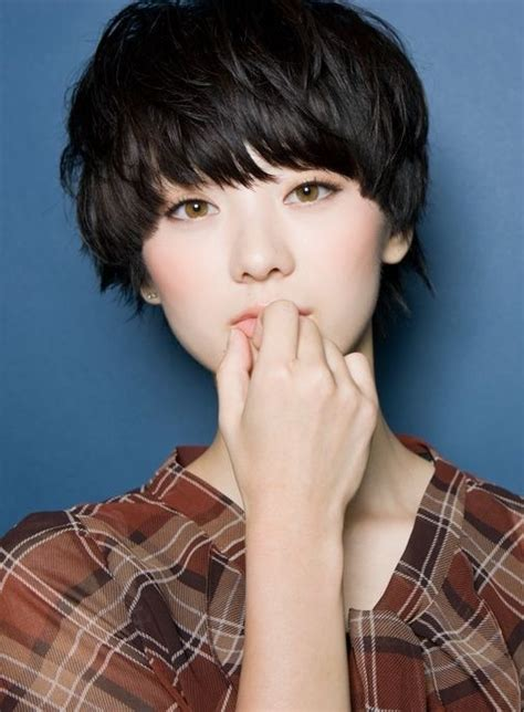 popular short hairstyles  asian girls pretty designs