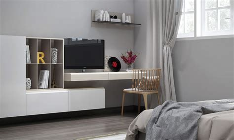 Tv In Bedroom Design Ideas by Bedroom Tv Unit Interior Design Ideas