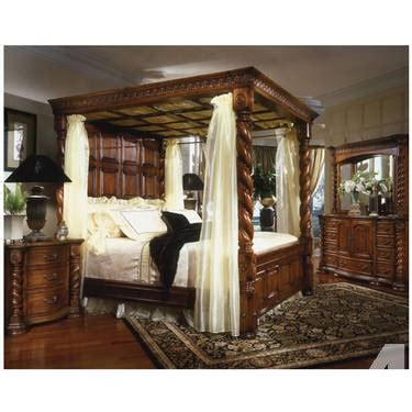 King Size Poster Bedroom Sets by King Size 4 Poster Bedroom Set For Sale In Finley