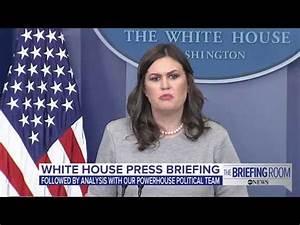 White House press briefing on government shutdown, Donald ...