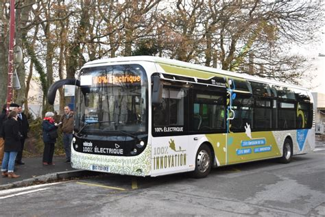 foto de Plouzané Brest Métropole teste son premier bus électrique