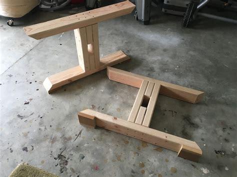 Trestle Coffee Table { Free Diy Plans } Rogue Engineer