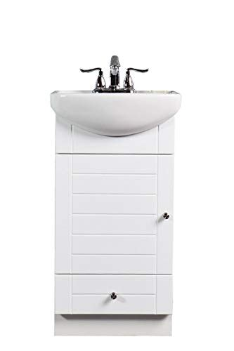 Small Vanity Cabinet by Fixtures Pe1612w Small Bathroom Vanity Cabinet And