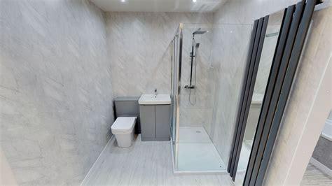 grey marble matt bathroom cladding direct