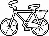 Bicycle Coloring Child Illustration Vector sketch template