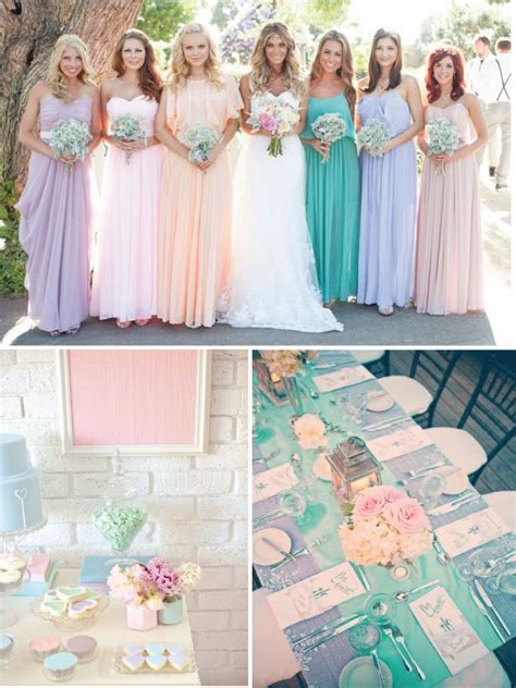 25 best ideas about pastel wedding colors on
