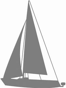 Sailboat Silhouette | Free vector silhouettes