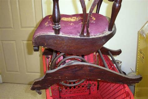 restoring the rock in antique platform rockers worthpoint