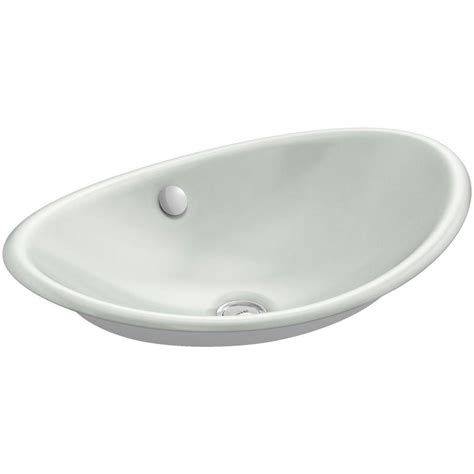 Kohler Vox Sink Home Depot by Kohler Vox Vitreous China Vessel Sink In White With
