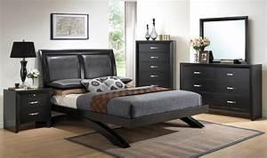 Galinda platform bedroom set bedroom sets bedroom for Bedroom furniture sets b q