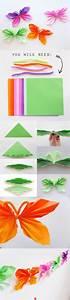 Schmetterling Basteln Papier : schmetterling aus geldschein falten anleitung ~ Lizthompson.info Haus und Dekorationen