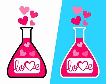 Potion Svg Clipart Valentine Clip Valentines Number