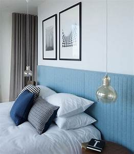 Examples of bedrooms with bedside pendant lights