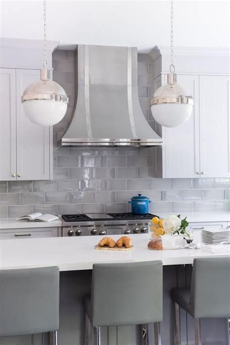 shaker kitchen tiles white shaker cabinets paired with white quartz countertops 2175