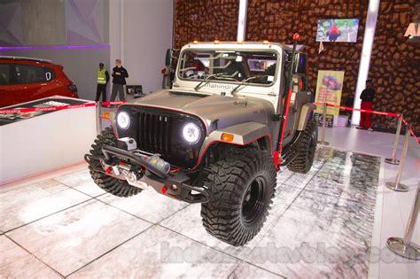 mahindra jeep 2016 mahindra thar custom at auto expo 2016 indian autos blog